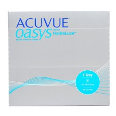 ACUVUE OASYS 1-Day with HydraLuxe™ Technology 90 шт
